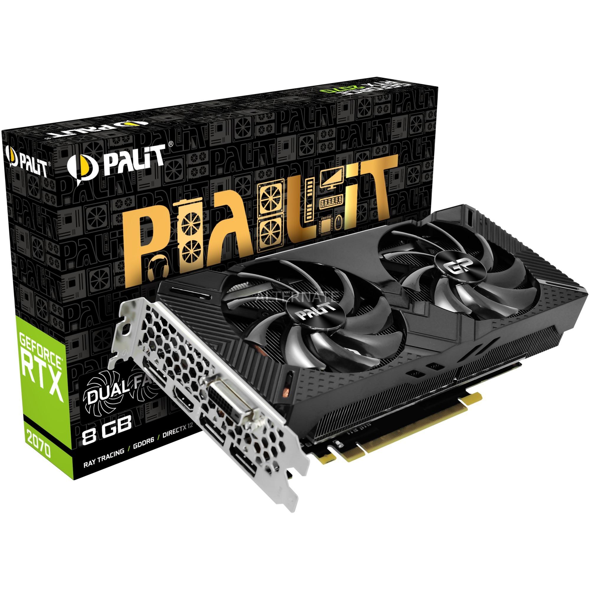 GeForce RTX 2070 Dual V1, Tarjeta gráfica