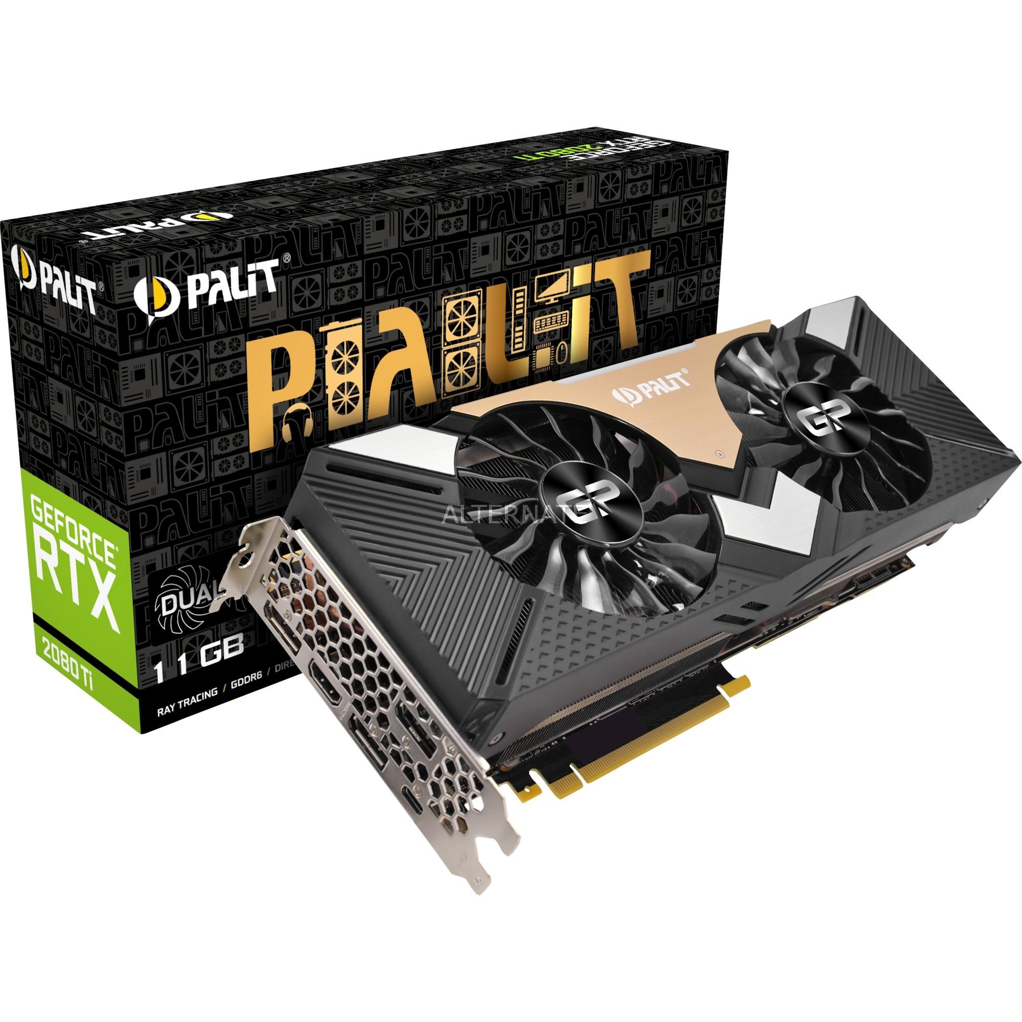 GeForce RTX 2080 Ti DUAL, Tarjeta gráfica
