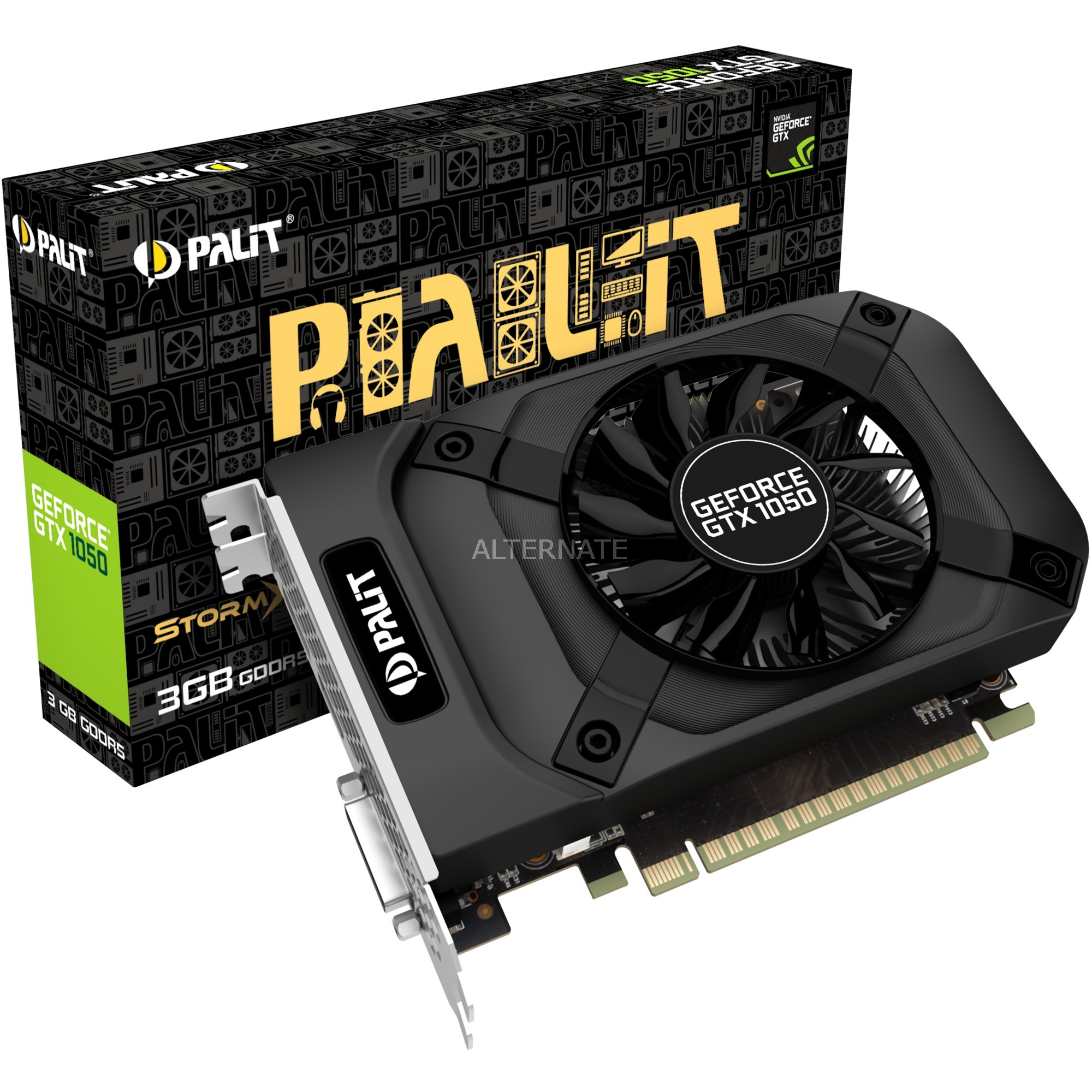 NE51050018FE-1070F GeForce GTX 1050 3GB GDDR5 tarjeta gráfica