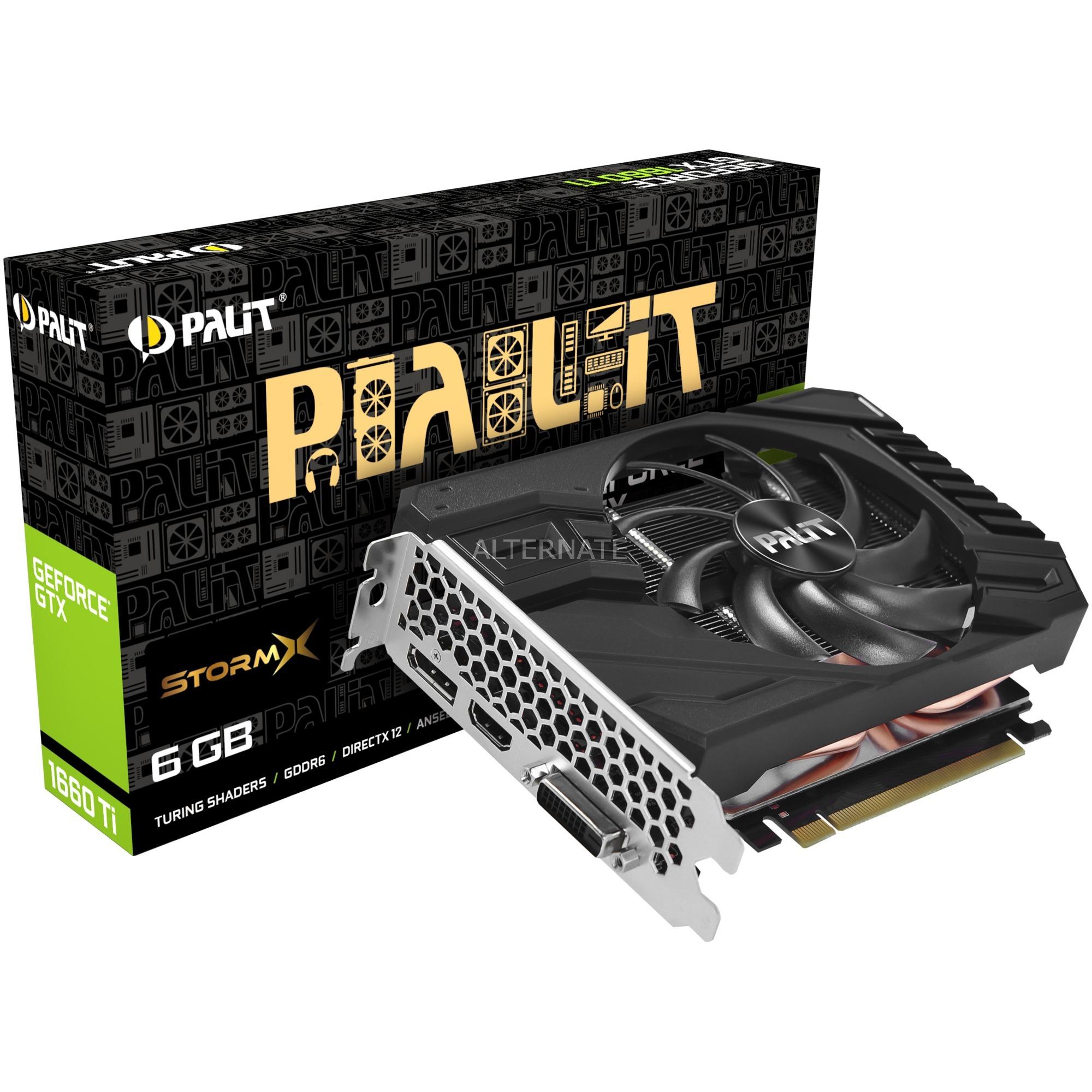 NE6166T018J9-161F tarjeta gráfica GeForce GTX 1660 Ti 6 GB GDDR6