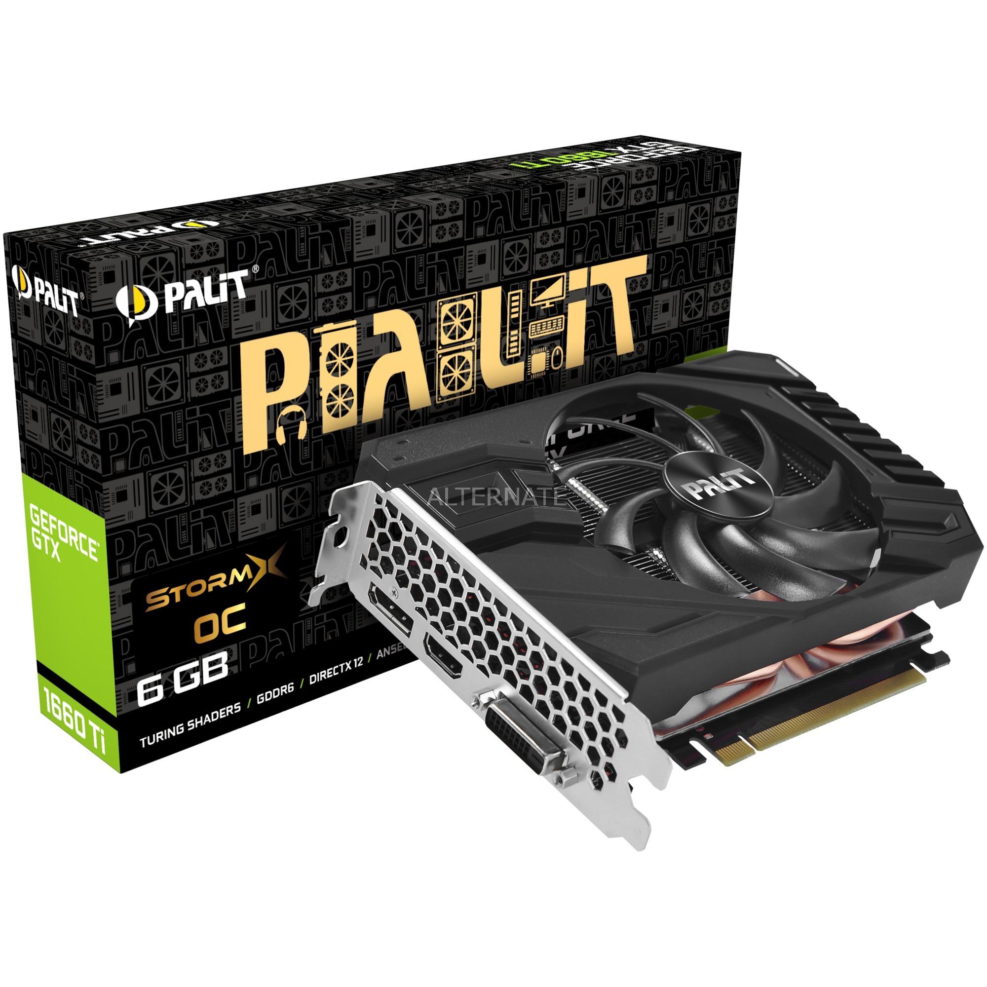 NE6166TS18J9-161F tarjeta gráfica GeForce GTX 1660 Ti 6 GB GDDR6