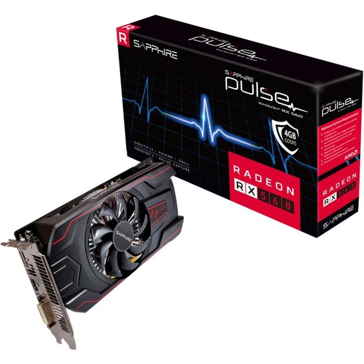 11267-18-20G tarjeta gráfica Radeon RX 560 4 GB GDDR5