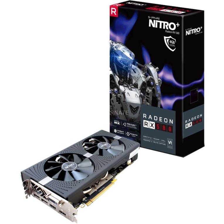 Radeon RX 580 NITRO+, Tarjeta gráfica