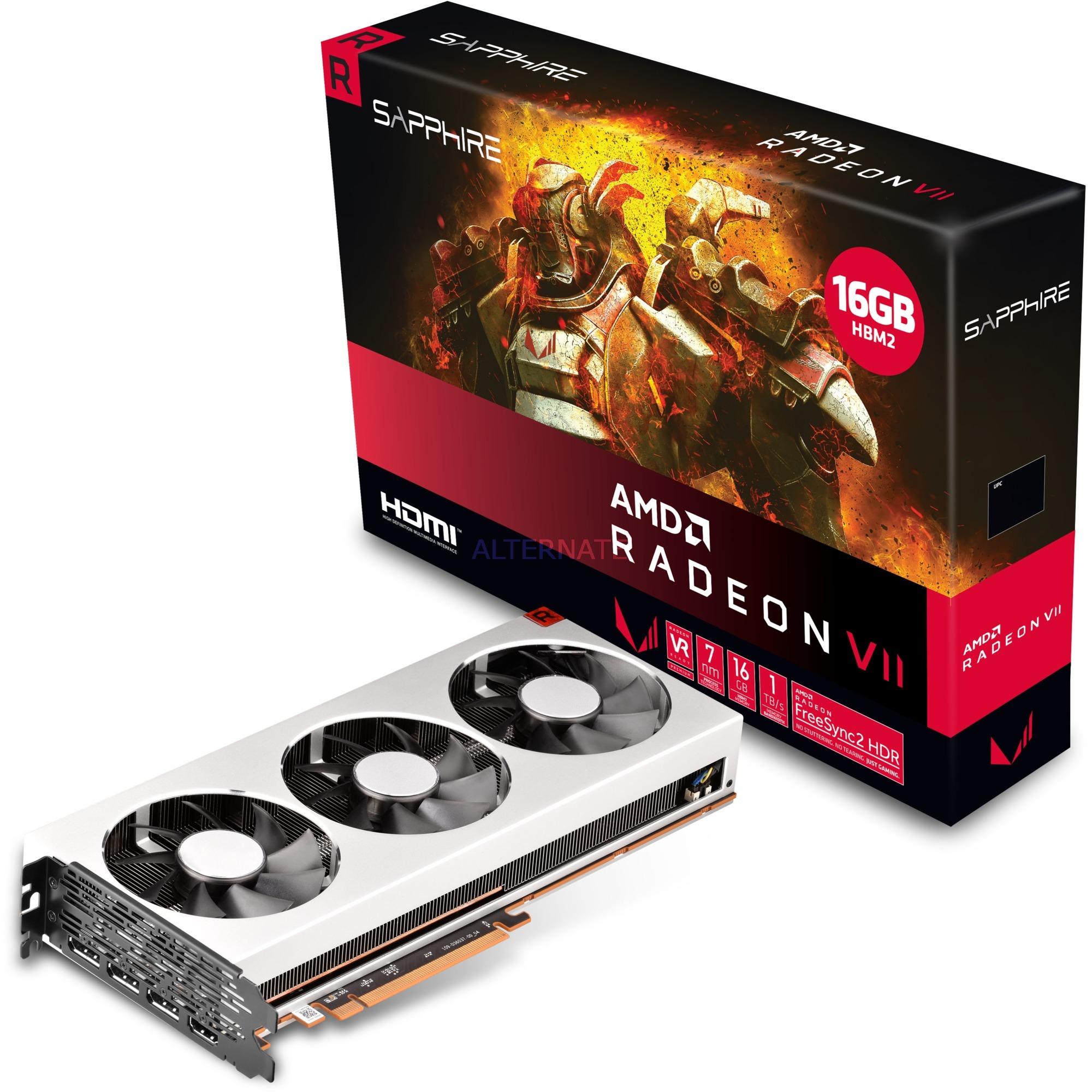Radeon VII 16G HBM2 16 GB Memoria de alto ancho de banda de segunda generación (HBM2), Tarjeta gráfica