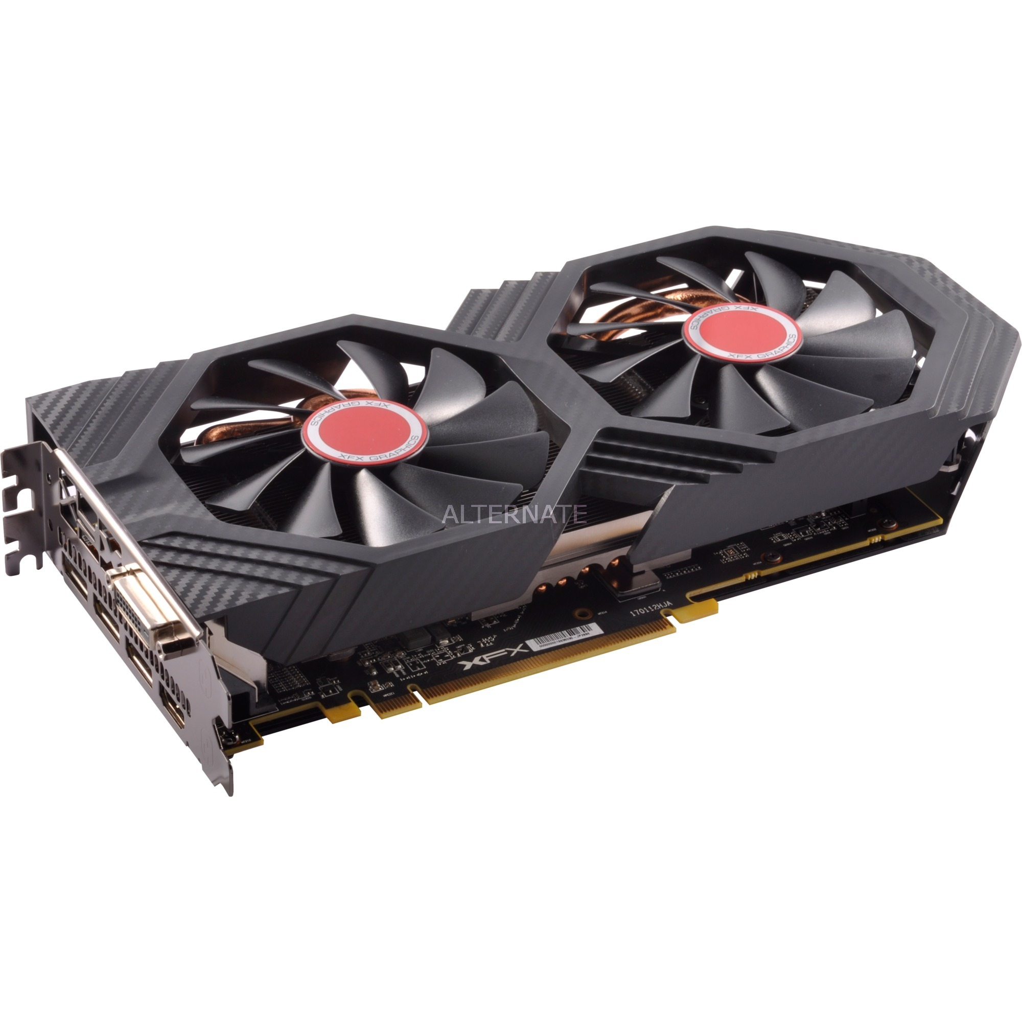 Radeon RX 580 GTS XXX Edition, Tarjeta gráfica