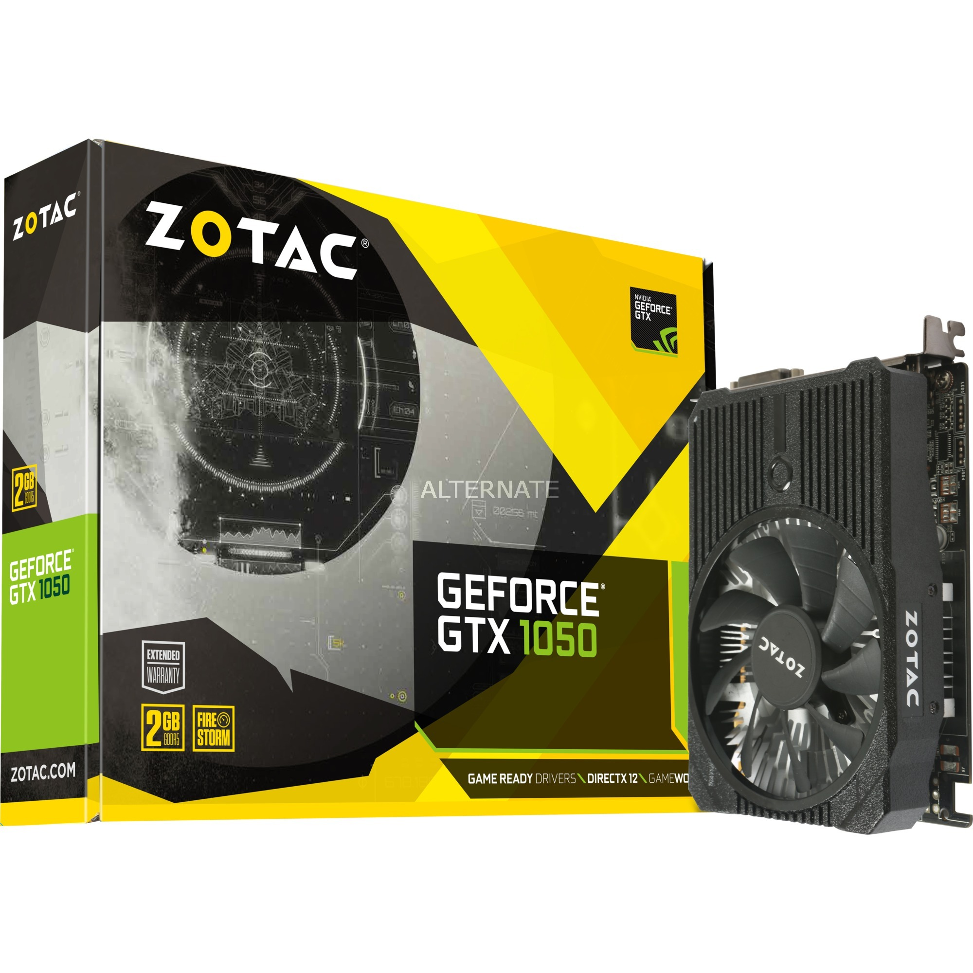GeForce GTX 1050 Mini GeForce GTX 1050 2GB GDDR5, Tarjeta gráfica