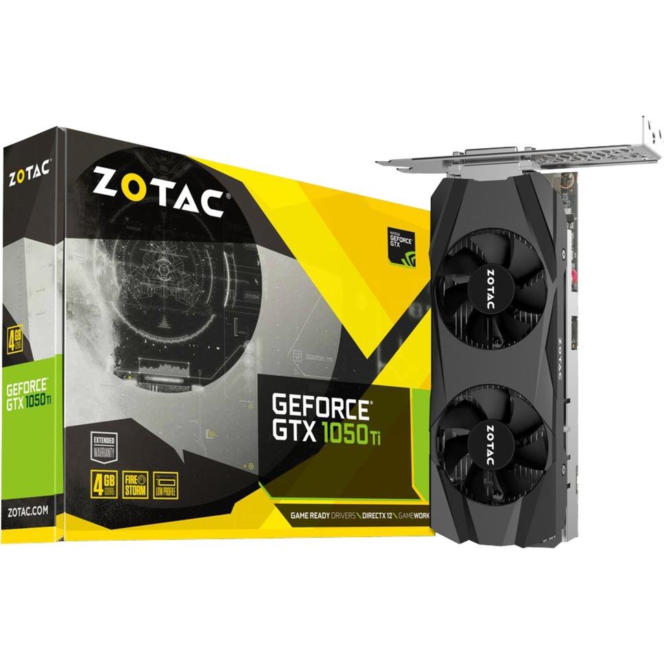 GeForce GTX 1050 Ti LP GeForce GTX 1050 Ti 4GB GDDR5, Tarjeta gráfica