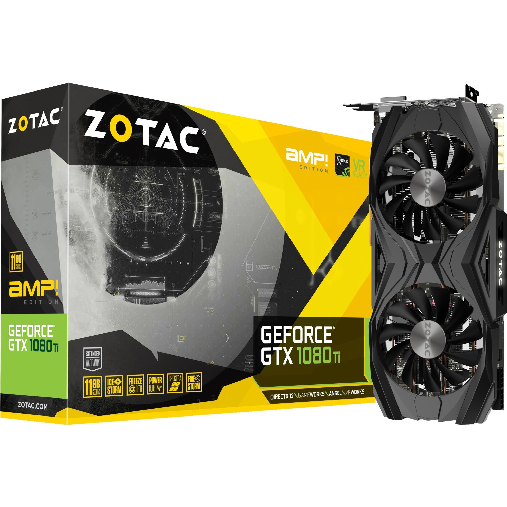 GeForce GTX 1080 Ti AMP Edition GeForce GTX 1080 Ti 11GB GDDR5X,...