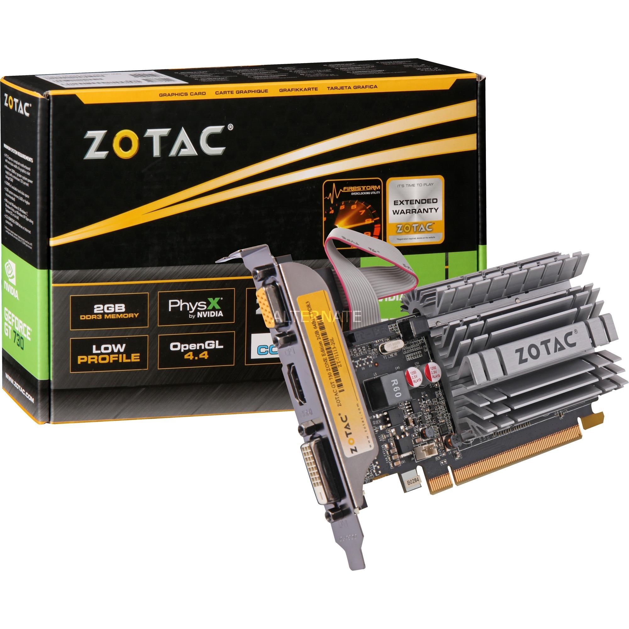 GeForce GT 730 2GB GDDR3, Tarjeta gráfica