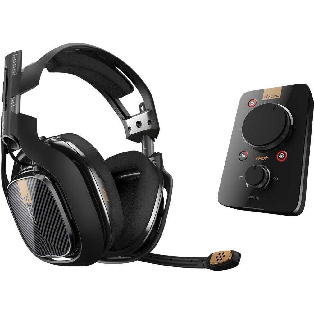 A40 TR + MixAmp Pro TR Binaurale Diadema Negro auricular con micrófono, Auriculares con micrófono