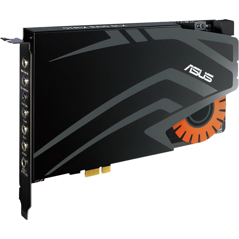 STRIX RAID DLX Interno 7.1 canales PCI-E, Tarjeta de sonido
