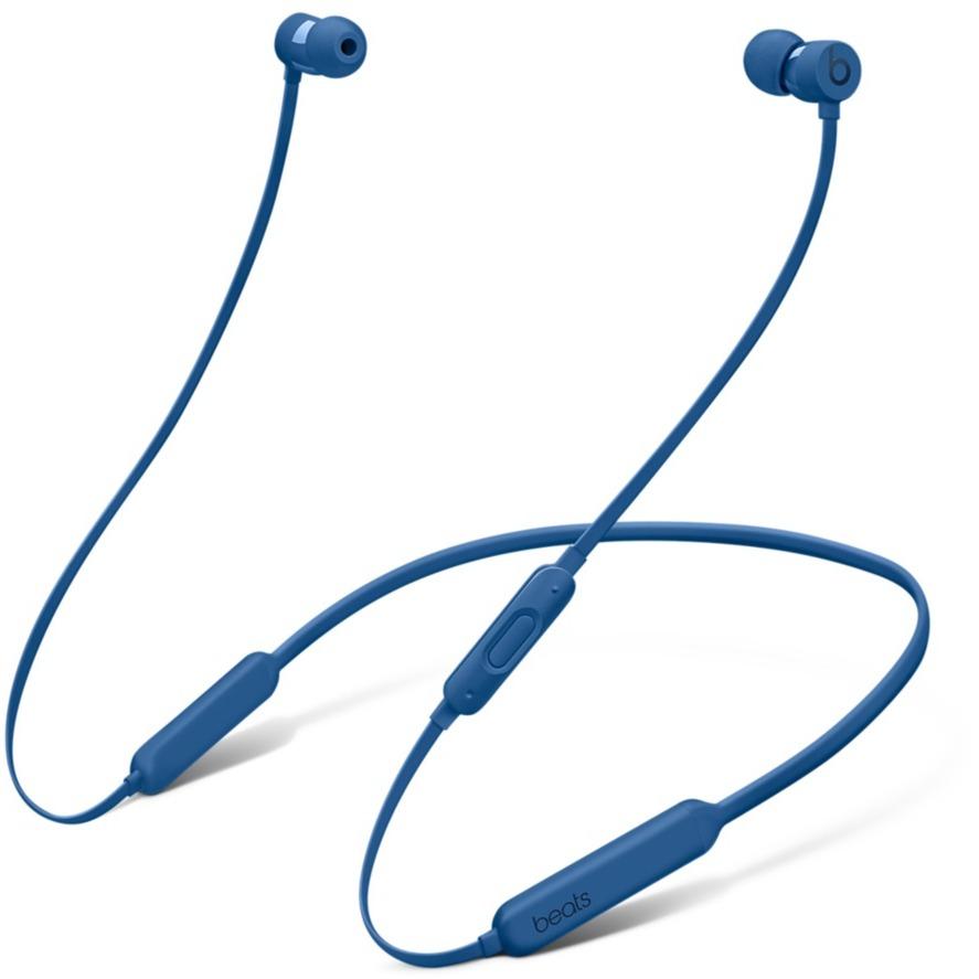 BeatsX Dentro de oído, Banda para cuello Binaural Inalámbrico Azul auriculares para móvil, Auriculares con micrófono