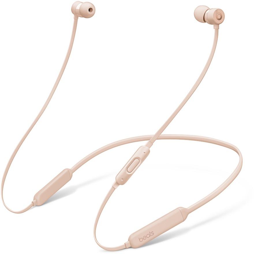 BeatsX auriculares para móvil Binaural Dentro de oído, Banda para cuello Oro Inalámbrico