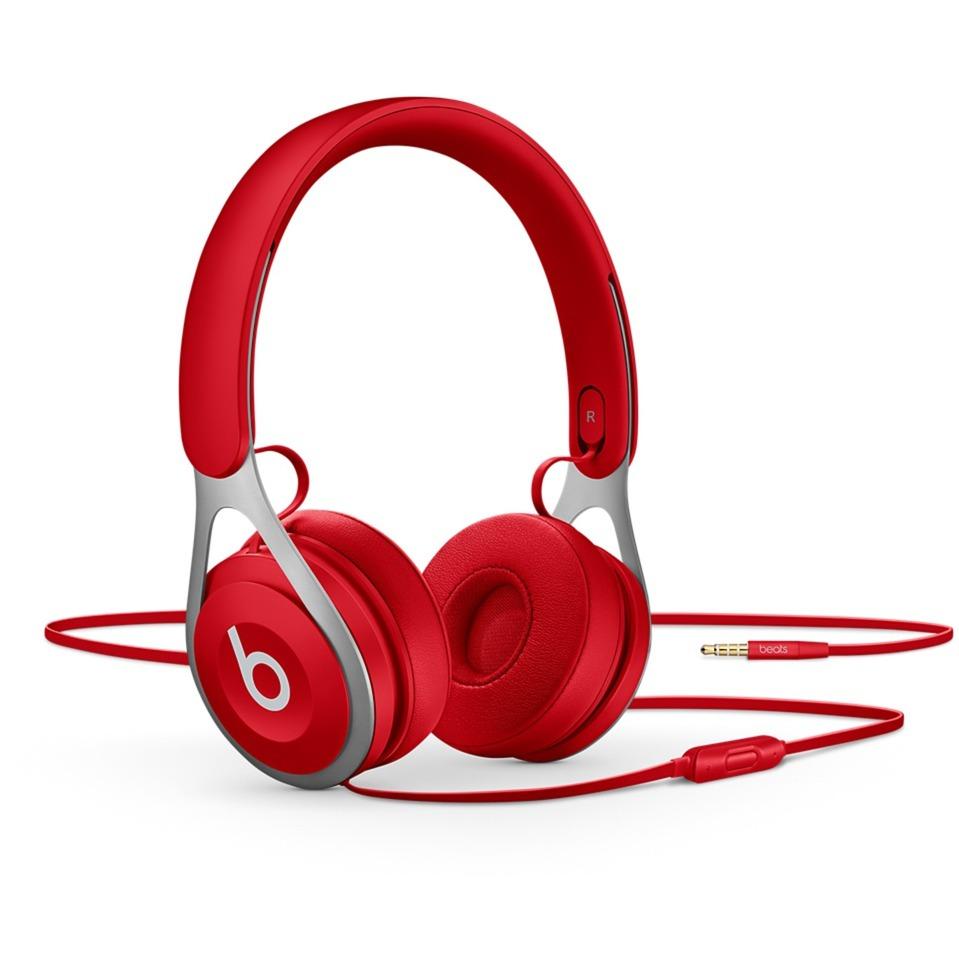 Beats EP auriculares para móvil Binaural Diadema Rojo Alámbrico