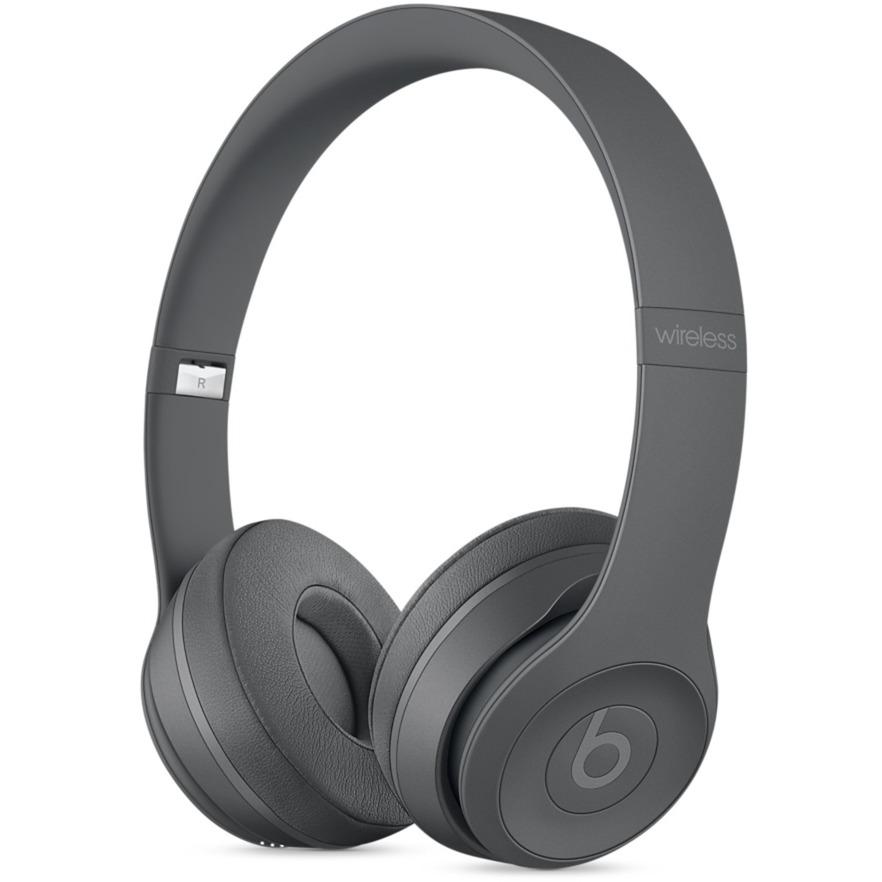 Beats Solo3 Diadema Binaural Alámbrico/Inalámbrico Gris auriculares para móvil
