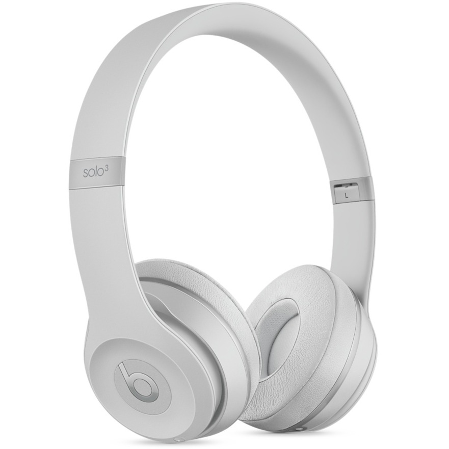 Beats Solo3 Diadema Binaural Alámbrico/Inalámbrico Plata auriculares para móvil