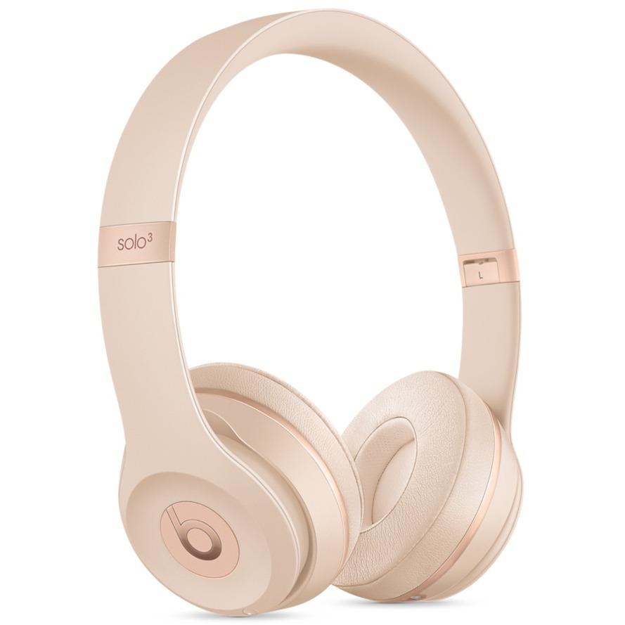 Beats Solo3 Diadema Binaurale Alámbrico/Inalámbrico Oro auriculares para móvil