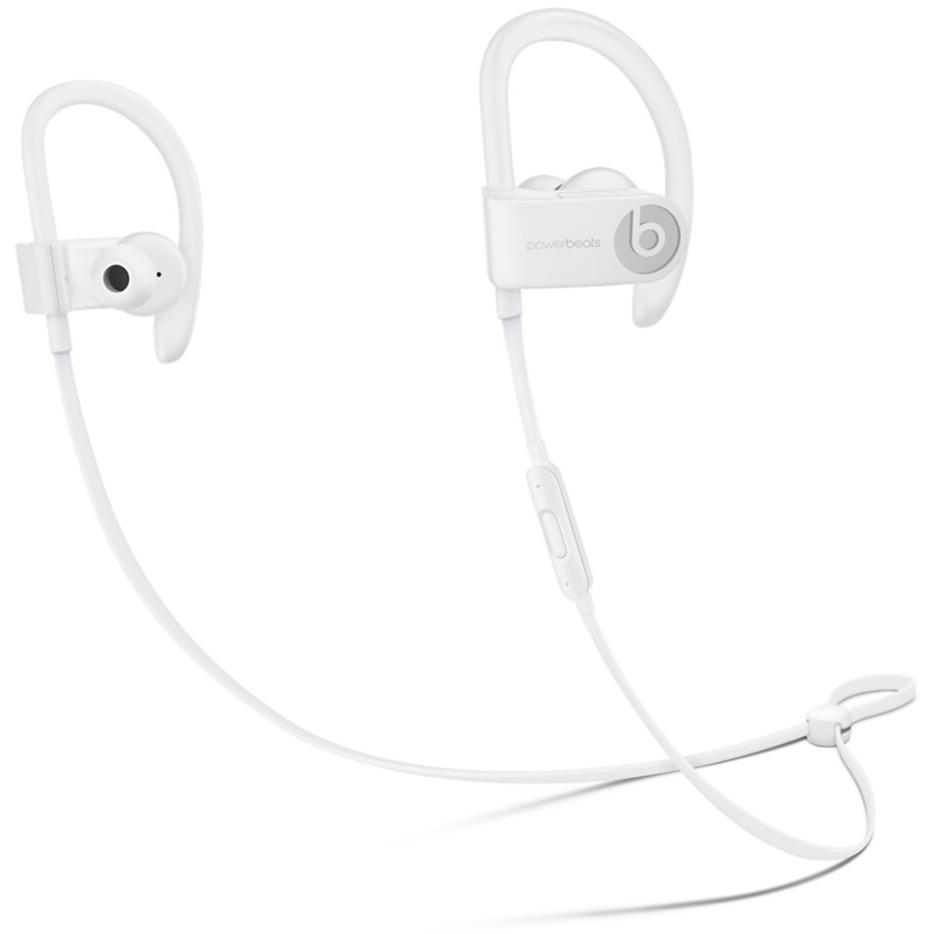 Powerbeats 3 auriculares para móvil Binaural gancho de oreja, Dentro de oído Blanco Inalámbrico, Auriculares con micrófono
