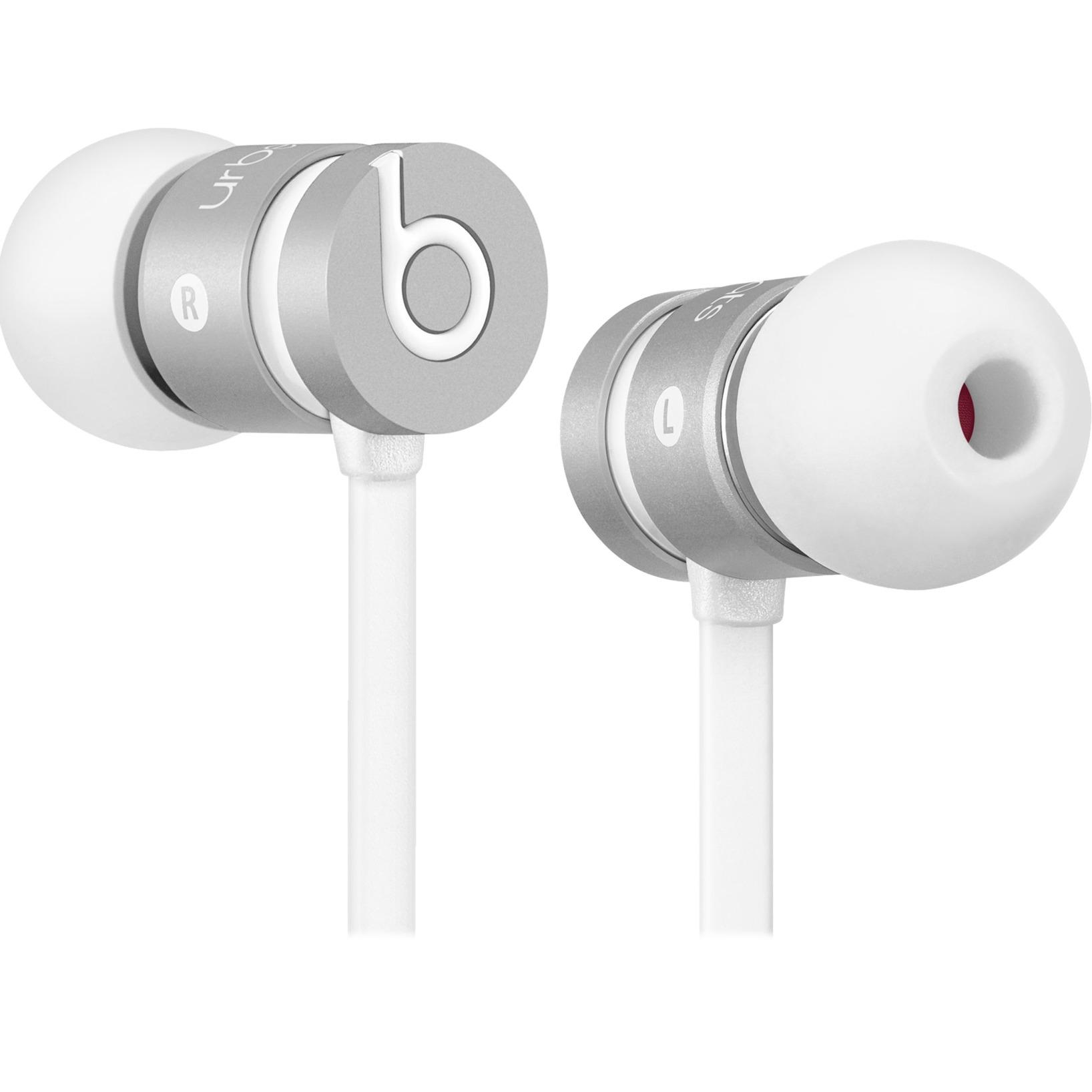 urBeats Dentro de oído Binaurale Alámbrico Plata auriculares para móvil, Auriculares con micrófono