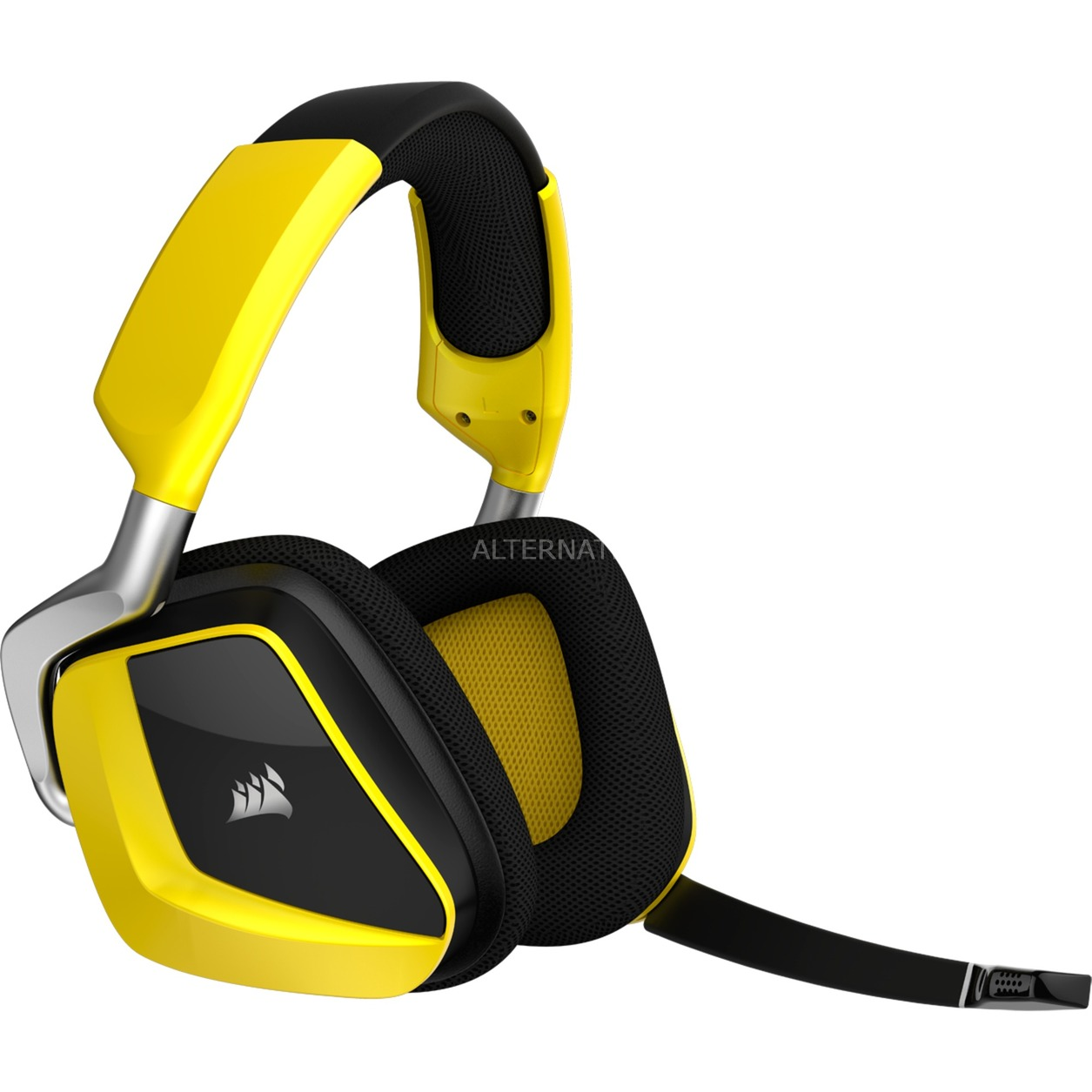 VOID PRO RGB Wireless SE Premium Binaurale Diadema Amarillo auricular con micrófono,...