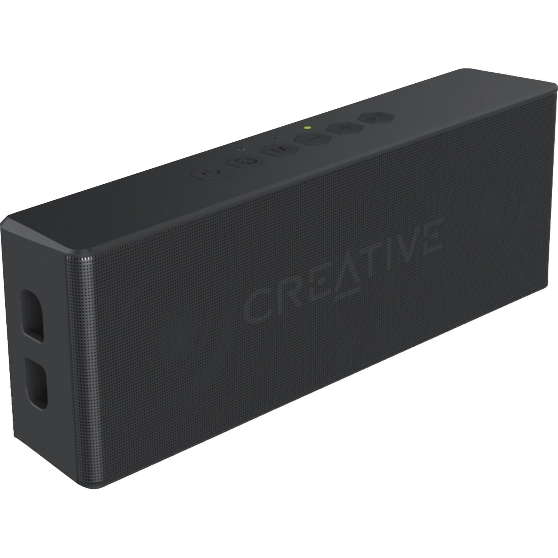 Creative MUVO 2 Mono portable speaker Negro, Altavoz