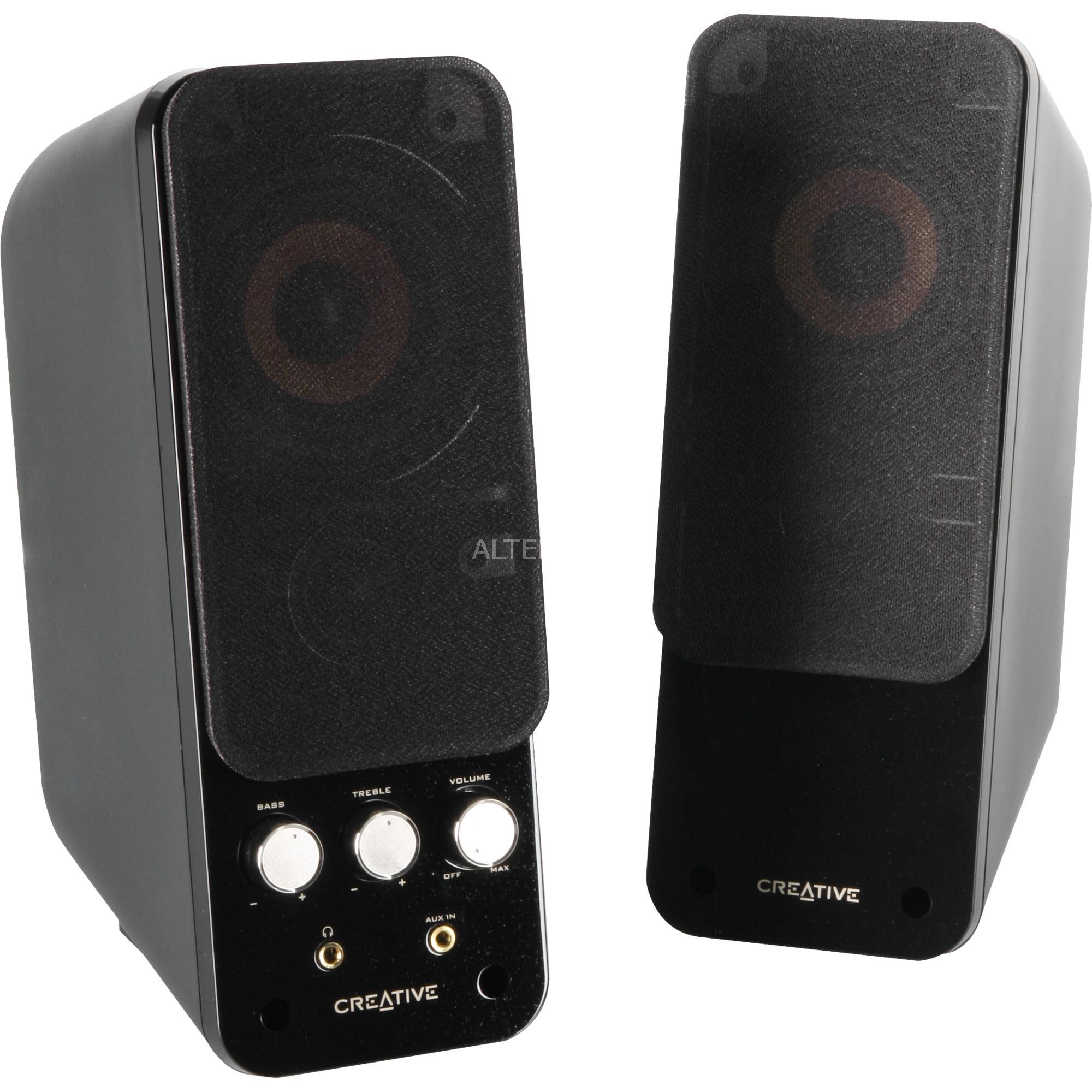 GigaWorks T20 Series II 28W Negro altavoz, Altavoces de PC