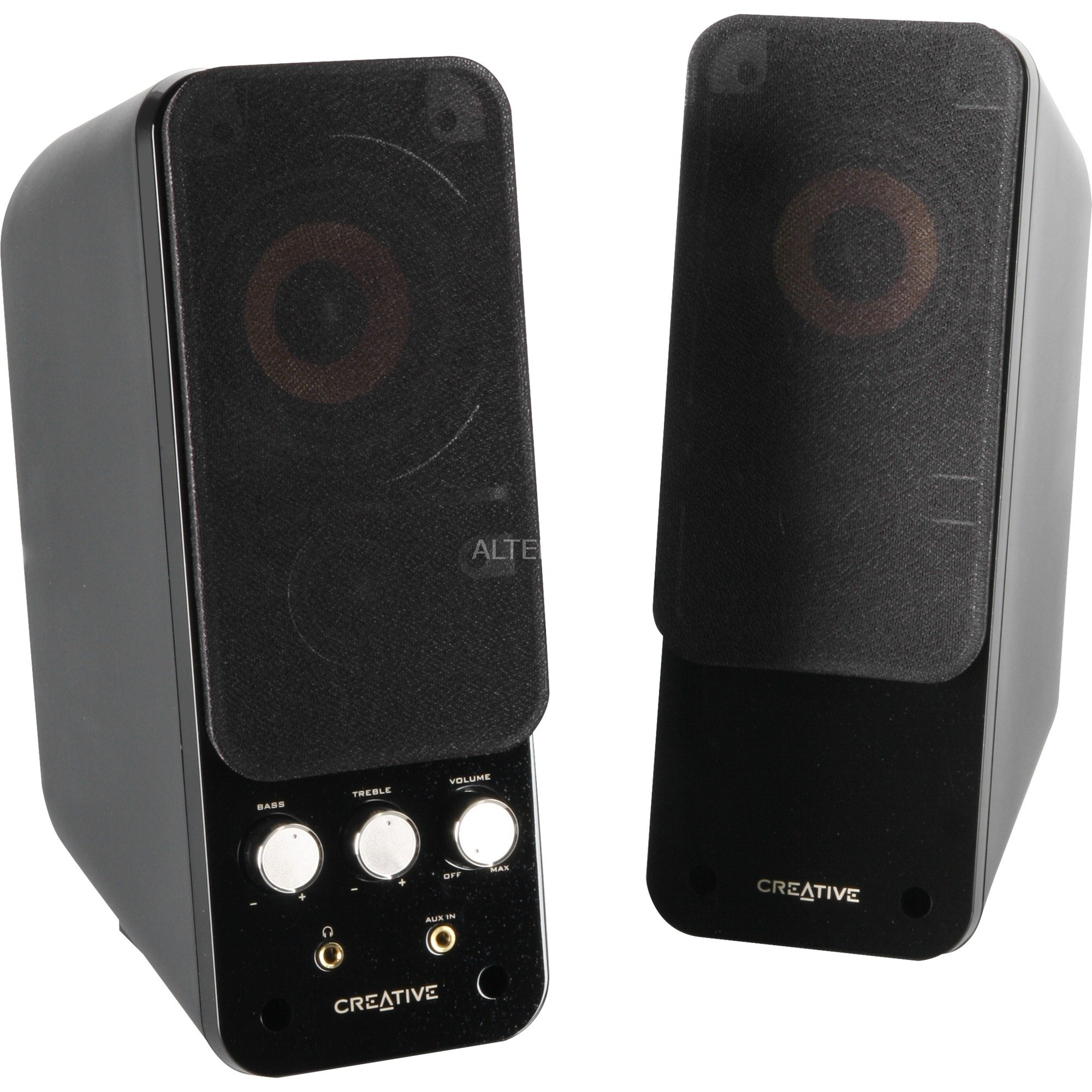 GigaWorks T20 Series II altavoz 28 W Negro, Altavoces de PC