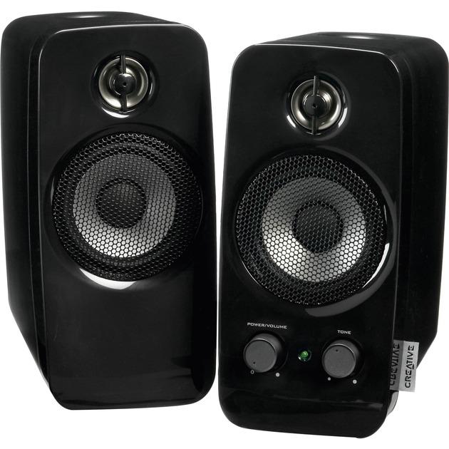 Inspire T10 altavoz 10 W Negro, Altavoces de PC