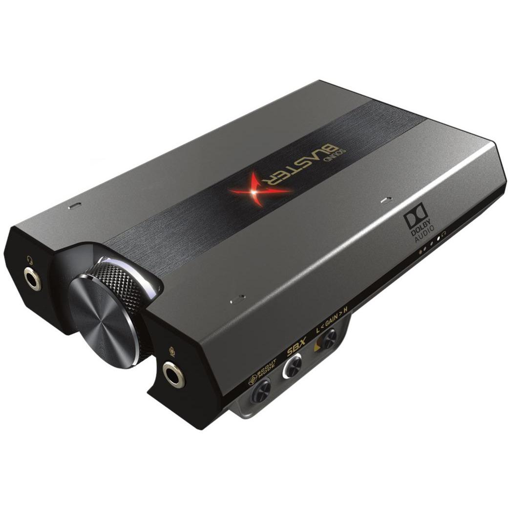 Sound BlasterX G6, Tarjeta de sonido