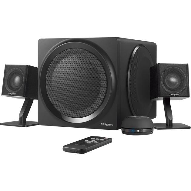 T4 Wireless 2.1channels Negro conjunto de altavoces, Altavoces de PC