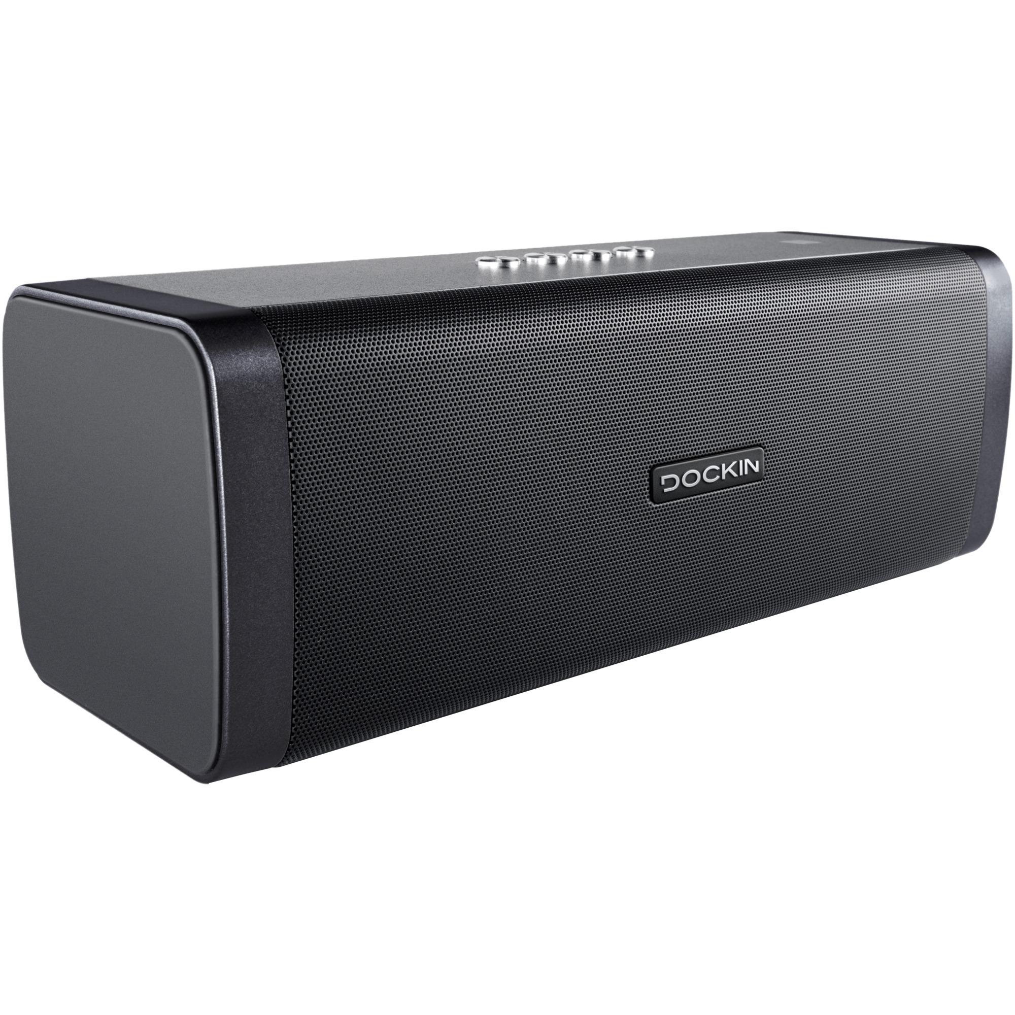 D Fine Altavoz portátil estéreo 50W Negro