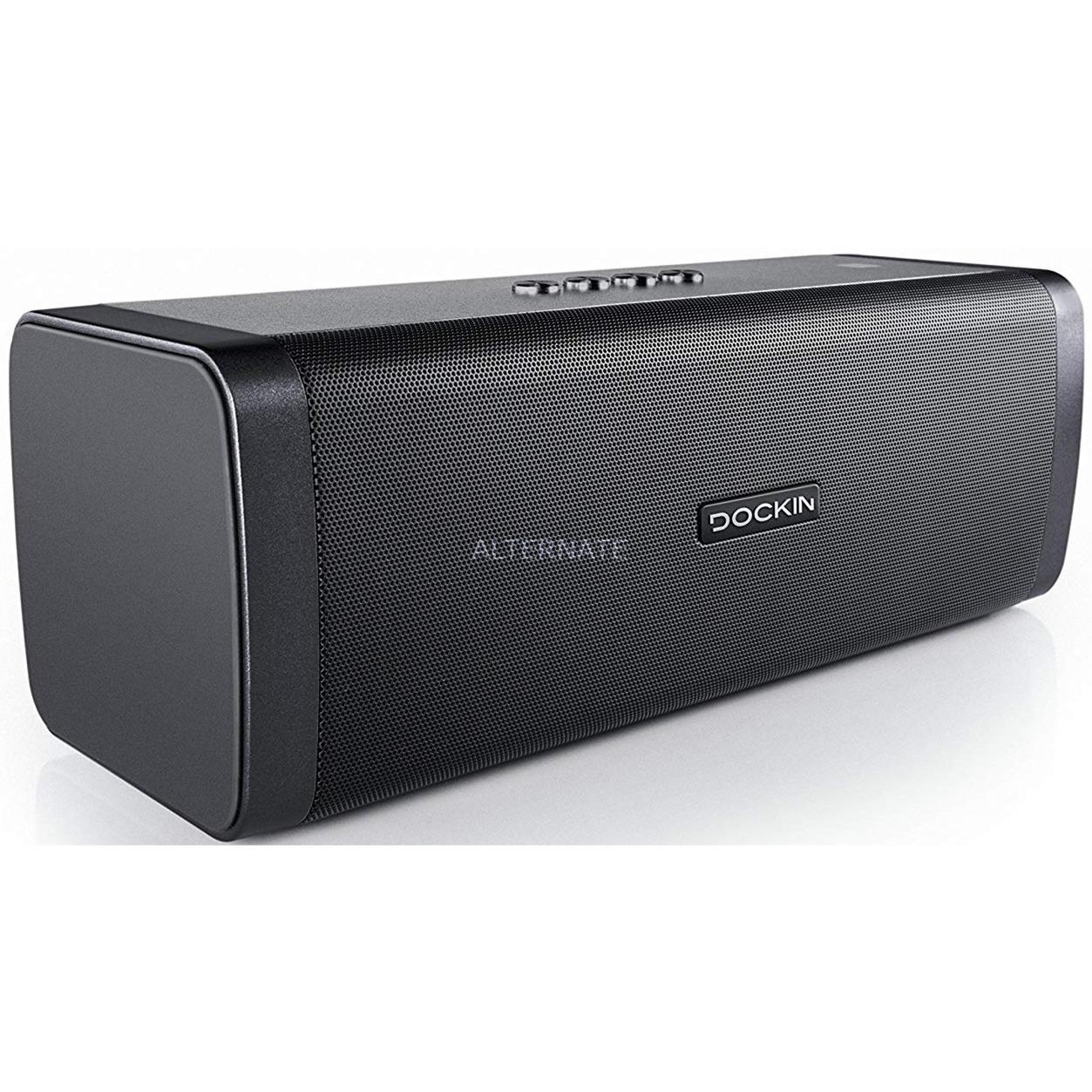 D Fine + 50 W Altavoz portátil estéreo Negro