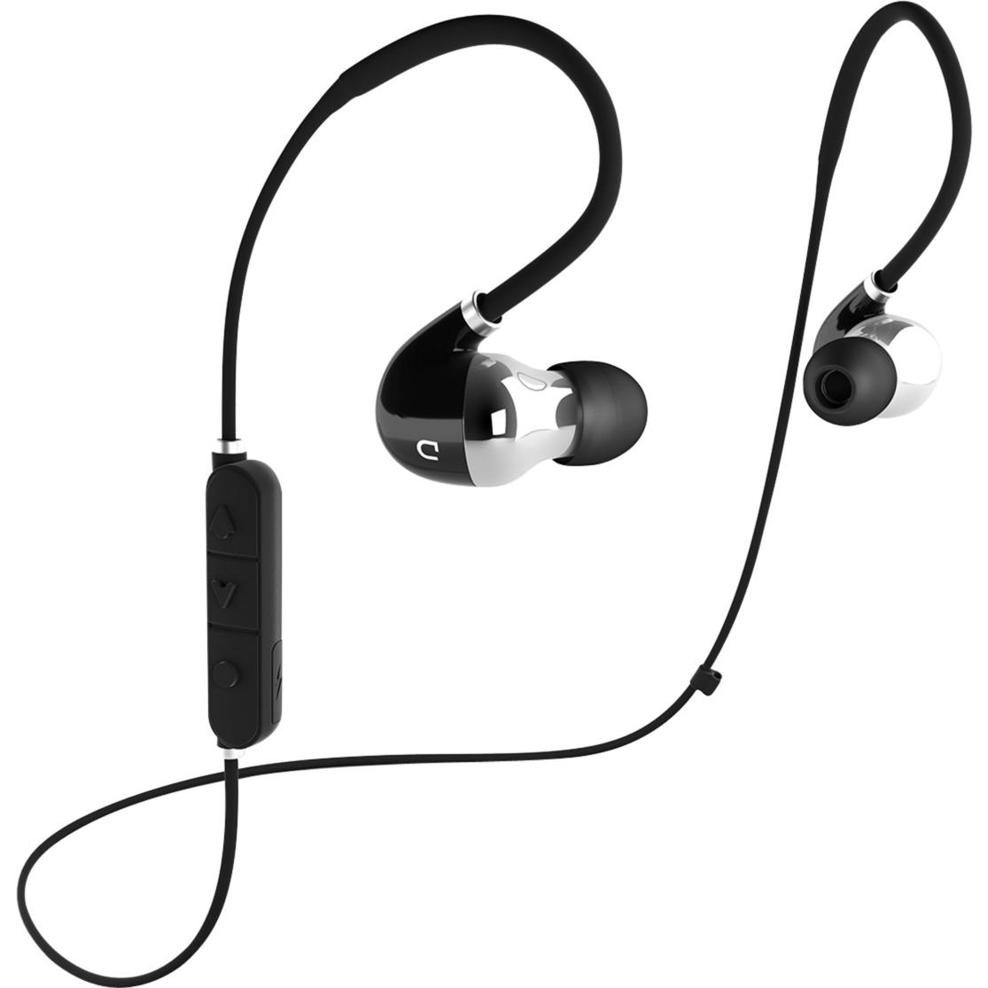 D MOVE Dentro de oído Binaurale Inalámbrico Negro, Plata auriculares para móvil