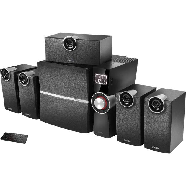 C6XD conjunto de altavoces 5.1 canales 80 W Negro, Altavoces de PC