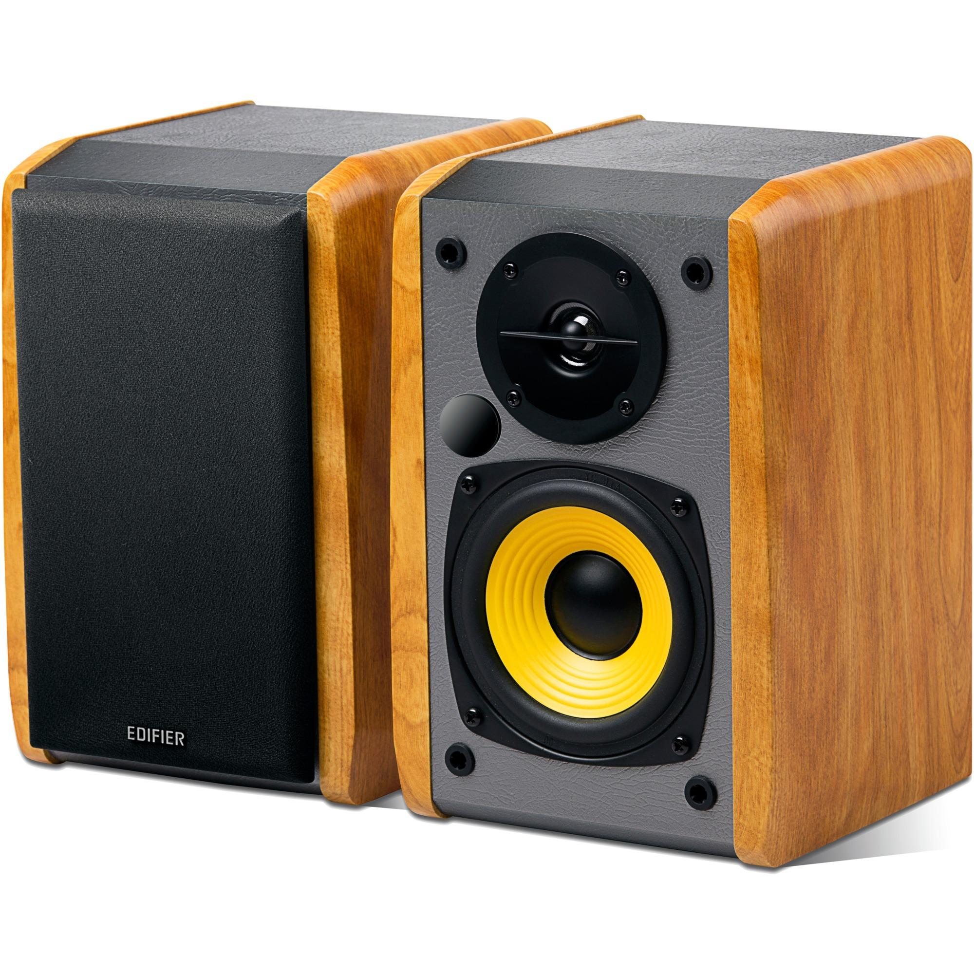 R1010BT altavoz 24 W Madera Inalámbrico y alámbrico 3,5mm/Bluetooth