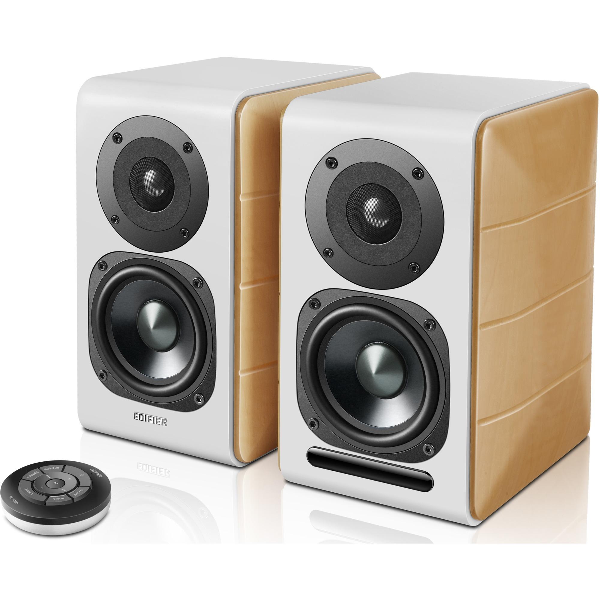 S880DB altavoz De 2 vías 88 W Blanco, Madera Inalámbrico y alámbrico 3,5mm/Bluetooth