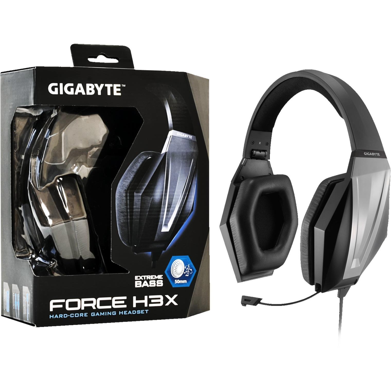 FORCE H3X, Auriculares con micrófono