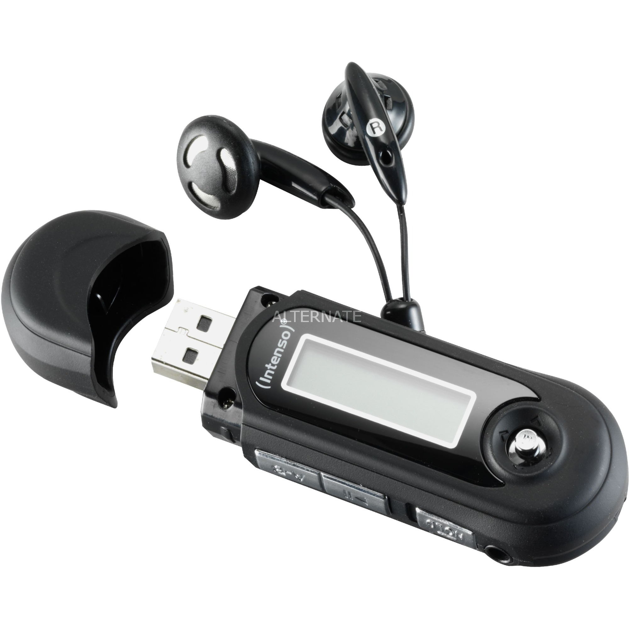 3601460 reproductor MP3/MP4 Reproductor de MP3 Negro 8 GB