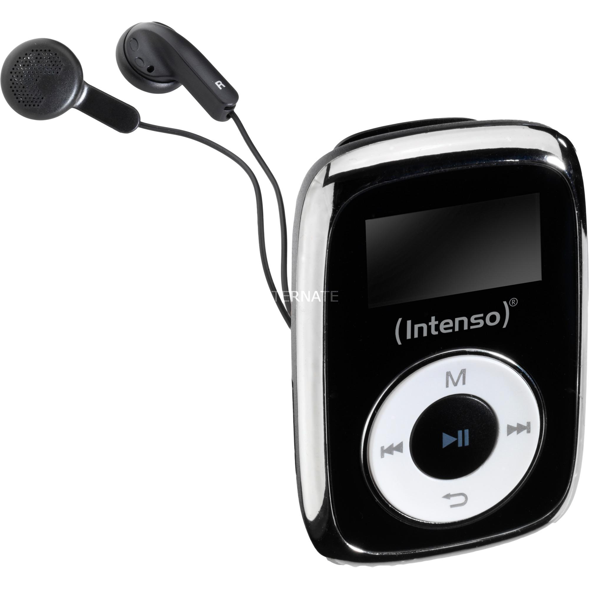 Music Mover Reproductor de MP3 Negro 8 GB, Reproductor mp3
