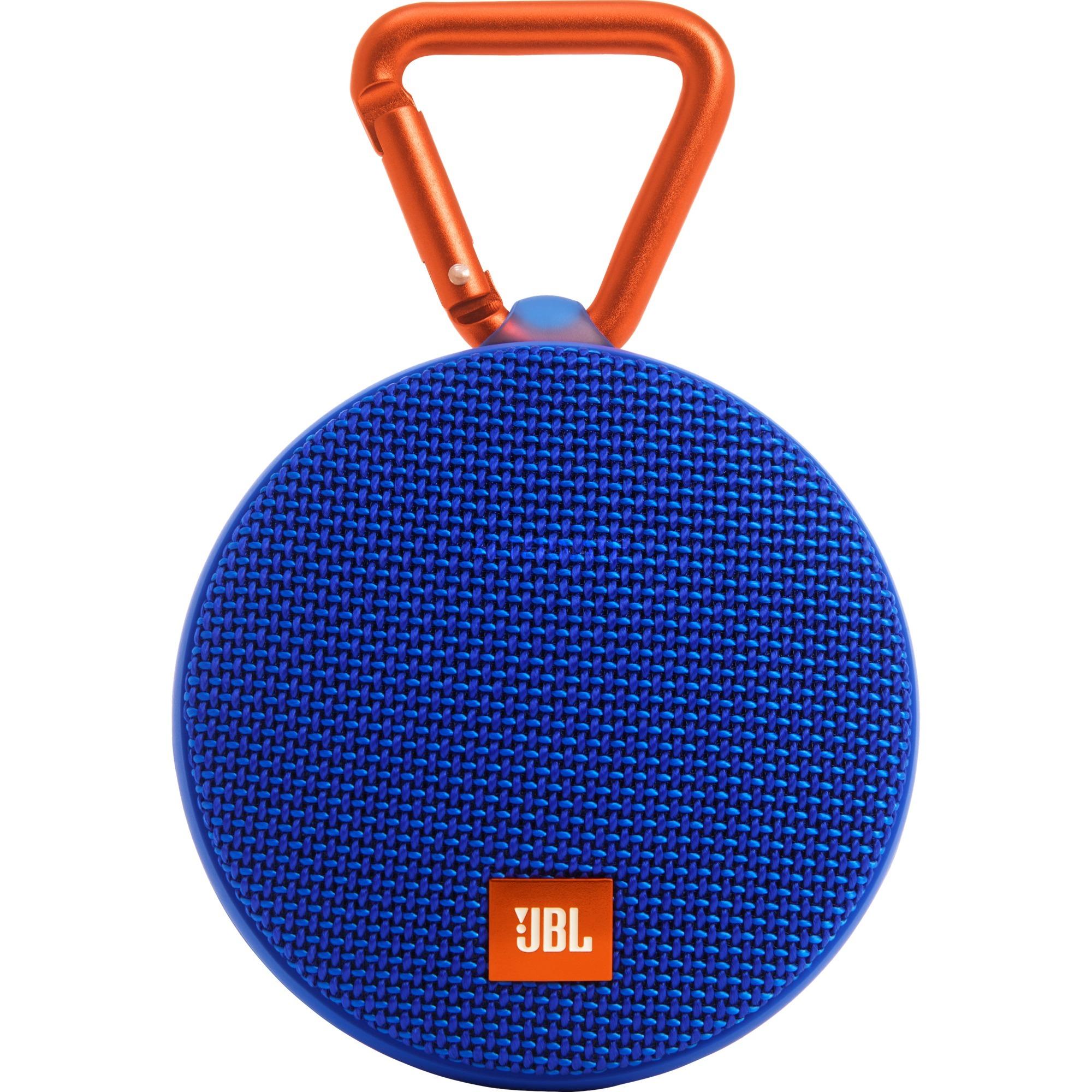 Clip 2 Mono portable speaker 3W Azul, Naranja, Altavoz