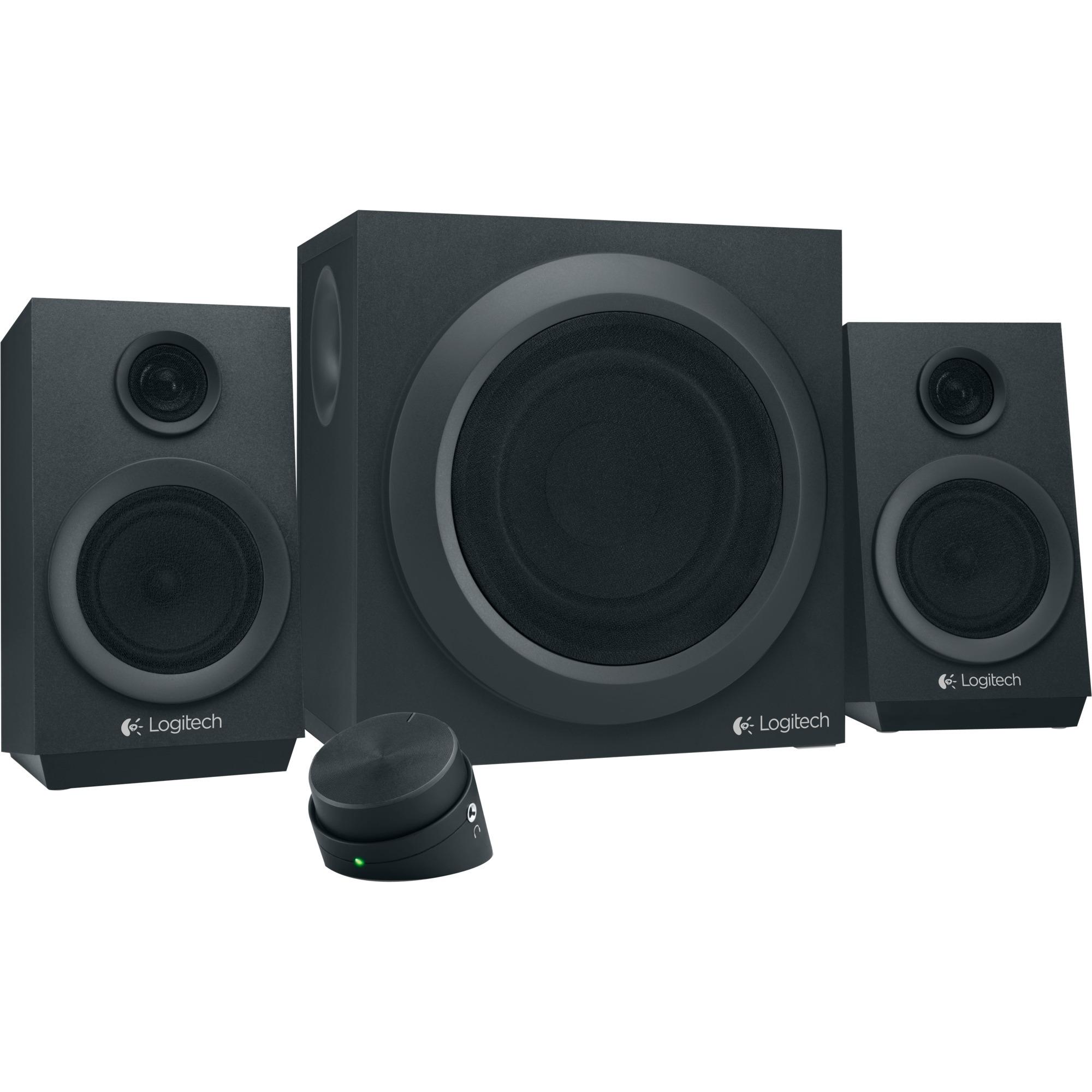 Z333 2.1channels 40W Negro conjunto de altavoces, Altavoces de PC