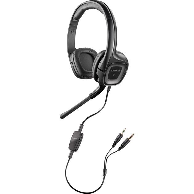 .Audio 355 Multimedia Headset Binaurale Diadema Negro auricular con micrófono, Auriculares con micrófono