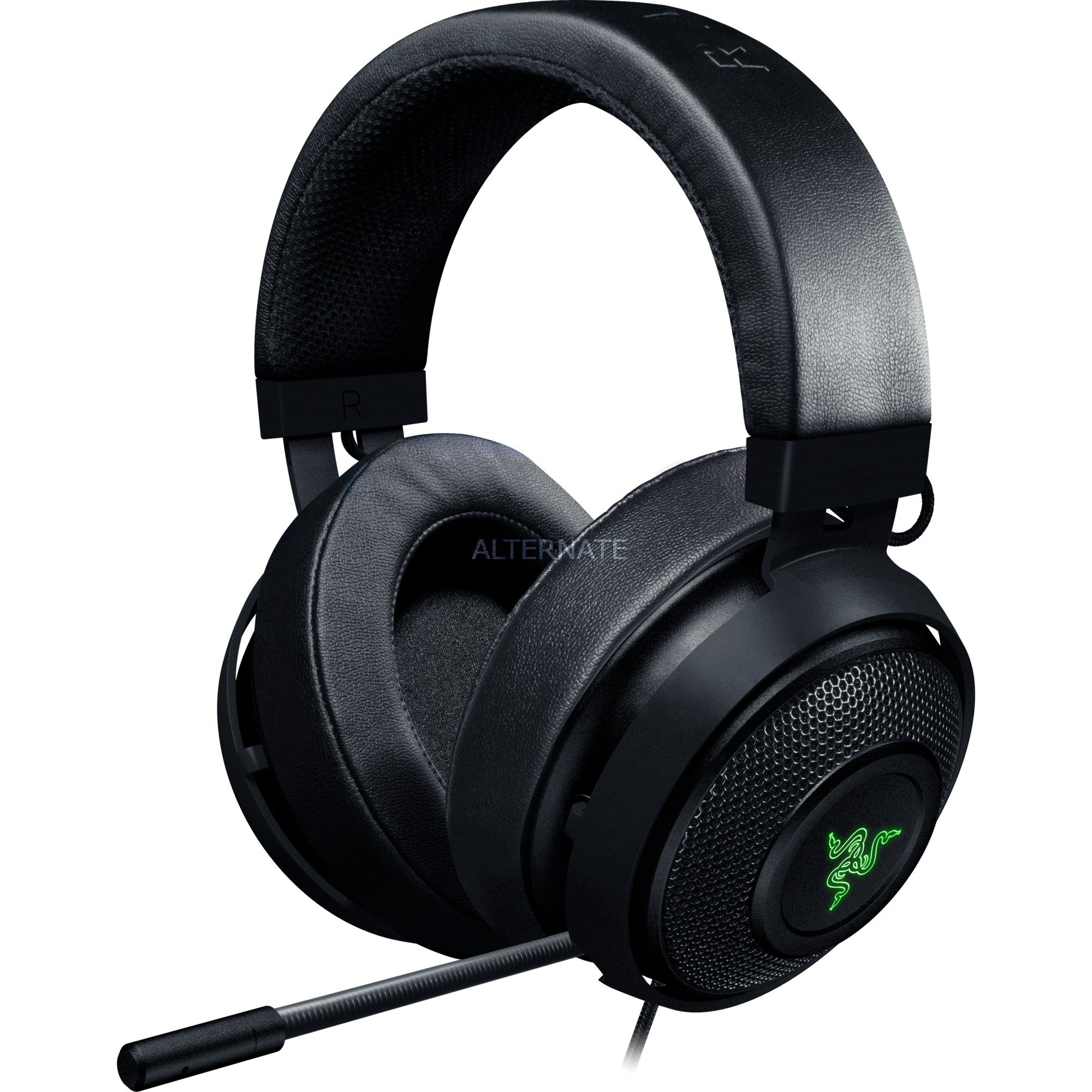 Kraken V2 7.1 V2 Binaurale Diadema Negro auricular con micrófono, Auriculares con micrófono