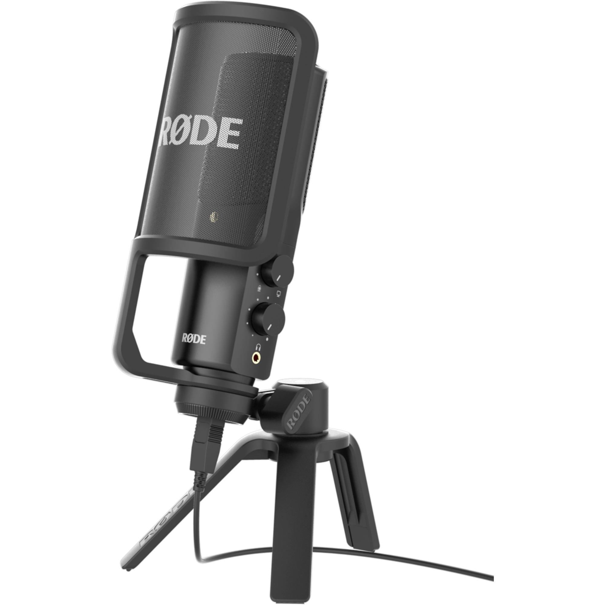 NT-USB Micrófono de estudio Alámbrico Negro