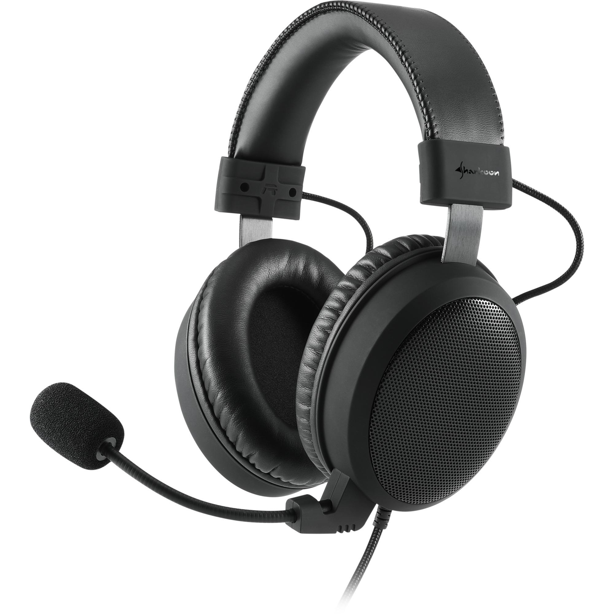 B1 Binaural Diadema Negro auricular con micrófono, Auriculares con micrófono