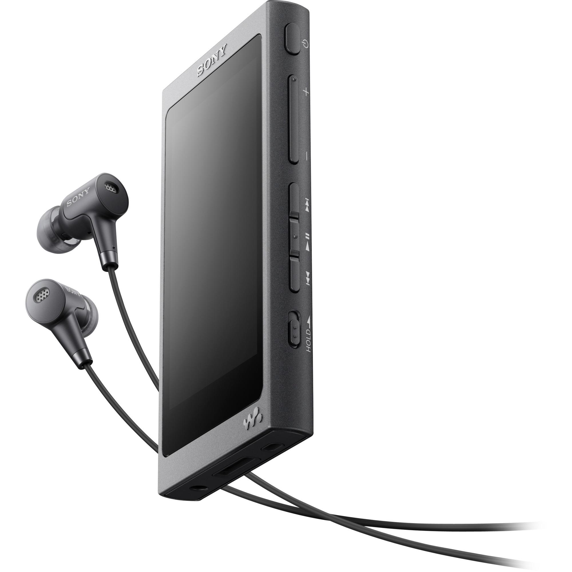 Walkman NW-A35HNB Reproductor de MP4 16GB Negro reproductor MP3/MP4