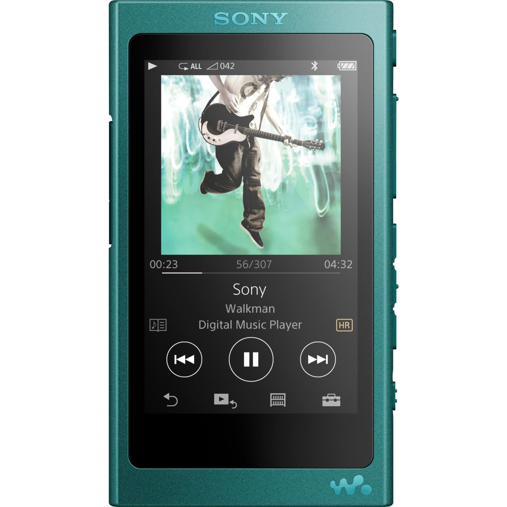 Walkman NW-A35L Reproductor de MP4 16GB Turquesa reproductor MP3/MP4