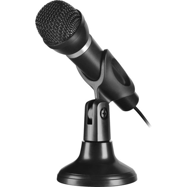CAPO Karaoke microphone Alámbrico Negro, Micrófono