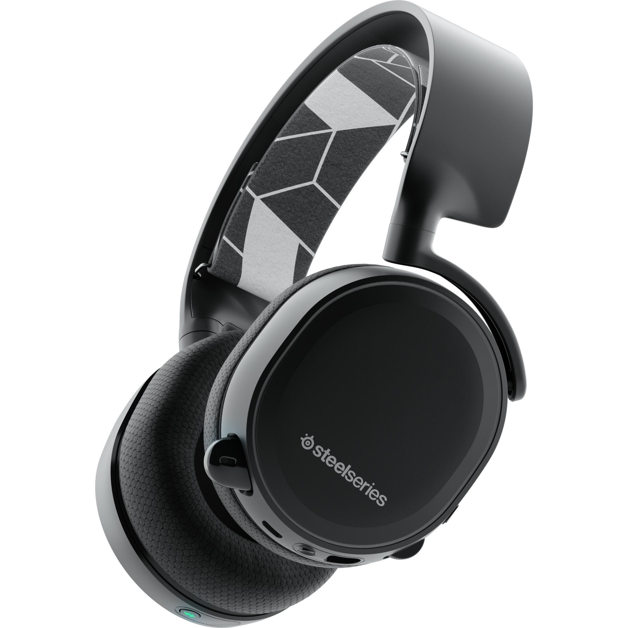 ARCTIS 3 Binaural Diadema Negro auricular con micrófono, Auriculares con micrófono