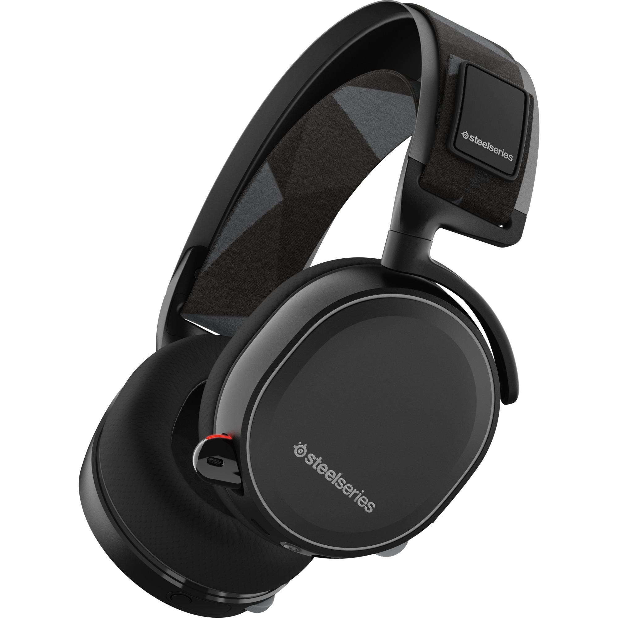 Arctis 7 Binaurale Diadema Negro auricular con micrófono, Auriculares con micrófono